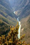 Wąwóz Du Verdon, Francja obraz stock