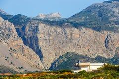 Wąwozów brzęczenia w północno-wschodni Crete, Grecja Fotografia Stock