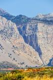 Wąwozów brzęczenia w północno-wschodni Crete, Grecja Fotografia Royalty Free