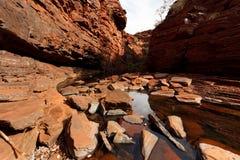 wąwozu karijini park narodowy Fotografia Stock