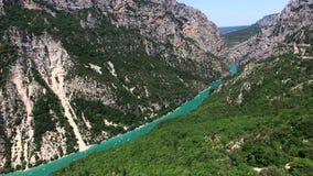 Wąwozy Du Verdon, Provence, Francja - zdjęcie wideo