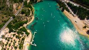 Wąwozy Du Verdon, Provence, Francja - zbiory