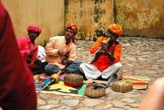 Węża facet od Rajasthan Zdjęcie Royalty Free