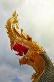 Węża królewiątka statua Obraz Stock