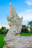 Węża królewiątko lub królewiątko naga statua Obraz Stock