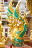 Węża królewiątko lub królewiątko naga statua 04 Zdjęcia Royalty Free