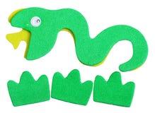 Węża magnes zdjęcie stock