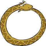 Węża pierścionek ilustracja wektor