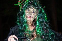 Węża podrywacz przy Halloween Obraz Royalty Free