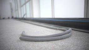 Węże elastyczni przy dnem budowa w domu przy ziemią zbiory