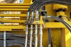 węże hydrauliczne Obraz Royalty Free