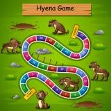 Węże i drabiny hieny gemowy temat royalty ilustracja