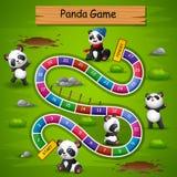Węże i drabiny pandy gemowy temat ilustracja wektor