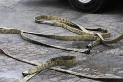 węże pożarnicze Zdjęcie Stock