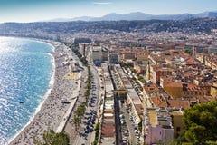 wędkuje ładnego des deptaka France obrazy stock