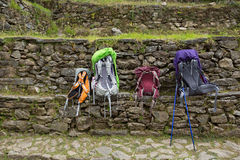 Wędrówka przy Sagarmatha parkiem narodowym obrazy royalty free