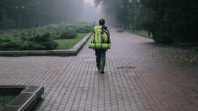 Wędrowa Urlopowego Ulicznego plecaka Chodzący miasto zbiory