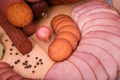 wędzone mięso Obraz Royalty Free