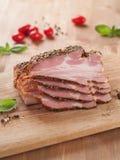 wędzone mięso Obrazy Royalty Free