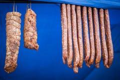 wędzone mięso Zdjęcia Stock