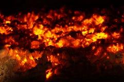 węgiel żywy Zdjęcia Stock