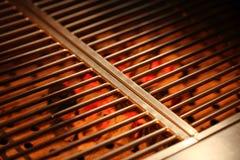 węgiel drzewny grill Obraz Royalty Free