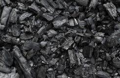 Węgiel drzewny tekstura Zdjęcia Stock