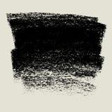 Węgiel drzewny tekstury tła sztandar, kredowy tło, grunge styl Fotografia Royalty Free