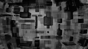 Węgiel i szklany nowożytny tło Zdjęcia Stock