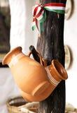 Węgierscy ceramiczni produkty zdjęcia royalty free