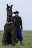 Węgierscy kowboje Zdjęcia Stock