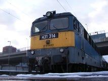 Węgierscy pociągi Zdjęcie Stock