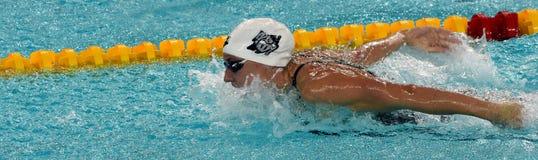 Węgierski Olimpijski, świat i Europejska mistrz pływaczka Katinka Hosszu, Zdjęcie Royalty Free