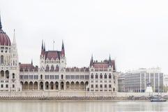 Węgierski parlament, Budapest, Węgry Fotografia Stock