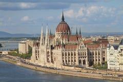 Węgierski parlament, Budapest, Węgry Obraz Stock