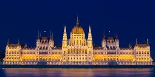 Węgierski parlamentu budynek - Budapest fotografia royalty free