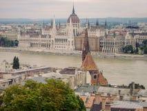 Węgierski parlamentu budynek, Węgry Obrazy Stock