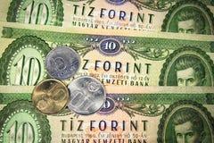 Węgierski stary pieniądze zdjęcia royalty free