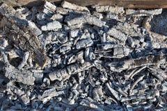 Węgla drzewnego tło Zdjęcie Stock