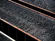 węgla energetycznego na szeroką skalę Zdjęcia Royalty Free