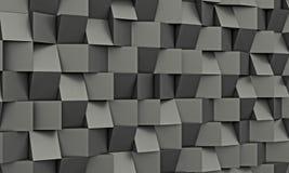 Węgla włókna geometryczny tło Obraz Royalty Free