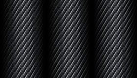 Węgla włókna tło Obraz Royalty Free