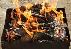 Węgle dla gotować Obraz Royalty Free