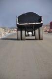 węglowa ciężarówka zdjęcia stock
