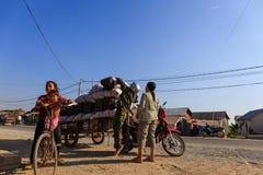 Węglowa dostawa w Kambodża Zdjęcie Royalty Free