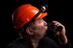 Węglowy górnik obrazy stock