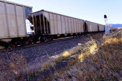 Węglowy pociąg Fotografia Stock