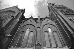 Węgra sławny kościół w Budapest Zdjęcia Royalty Free