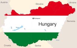 Węgry ilustracja wektor