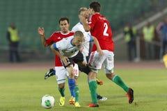 Węgry vs. Estonia pucharu świata określnika dopasowanie Zdjęcie Royalty Free